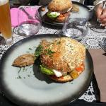 Burger au Cabillaud