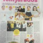 Reportagem falando sobre os jurados amazonenses no Master Chef Brasil