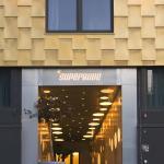 Superbude Eingang von der Spaldingstraße