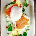 Poached Egg with Smoked Salmon