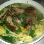 Cantonese Wanton Soup with Roast Duck