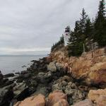 Bass Harbor Head Light from the rocks