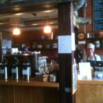 Friendly barista