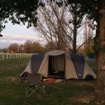 Great camping just next to the show ground