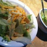 ginger salad - miso soup