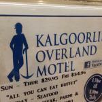 Kalgoorlie Overland Motel Foto
