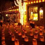 LUMINARIAS NEAR THE CHUPAROSA INN BED & BREAKFAST