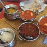 Paneer, Curry, Basmati rice, Rogan Josh