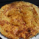 savory pancake with ginger