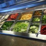 Salad Bar items