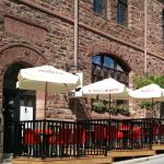 Enjoy the Cafe Postino patio in summer!