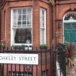 main entrance on Oakley Street, Chelsea