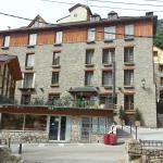 Roya Hotel front, Espot