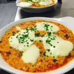 Giouvezzi Mozzarella. Es schmeckt sehr gut!!!