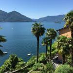 Lago Maggiore - Blick vom Schlafzimmerbalkon