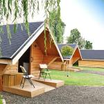 Glamping Wooden Hut