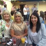 Customers enjoying our newly refurbished beer garden