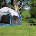 Separate tent area