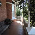 Shaded verandah
