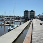 Boardwalk and marina, Launceston