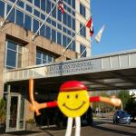 Mr. Smiley at InterContinental Suites Hotel Cleveland