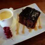 Steak Night & Sticky toffee and custard