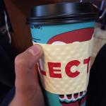 The most delicious salted caramel almond milk latte! Awesome coffee, awesome food great vibes! A