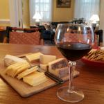 Evening cheese & wine