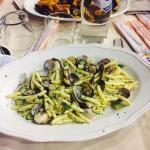 Scialati elle con Vongole e Zucchine