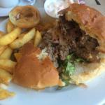 Dog meat burger