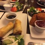 Appetiser menu