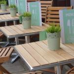 New outdoor furniture on our terrace