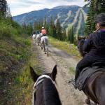 Trail Ride with Sun Peaks Stables