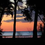 Weipa sunset from the caravan park.