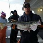Live lining Stripers