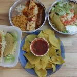Tamale Deluxe and Super Lunch