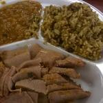 Lean Brisket, Beans and Dirty Rice