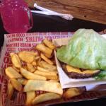 Proteinstyleburger