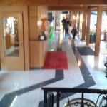 Hall entrée de l'hôtel