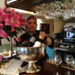 Lucio at his bar