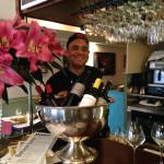 Lucio proud of his restaurant