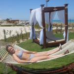 Over 18 sun bathing area