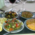 Moroccan Salad.