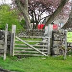 Malham Penfold in front of the YHA