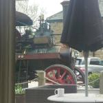 Steam Engine's driver called in for a Black Sheep!