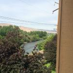 All rooms have a view of the Yakima River