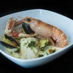 Luxury seafood chowder