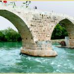 Aspendos - Brücke (2.JHv.Chr+11.JHn.Chr) Fluss abwärts