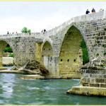 Aspendos - Brücke (2.JHv.Chr+11.JHn.Chr) Fluss aufwärts
