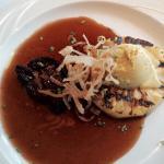 Foie gras & scallops